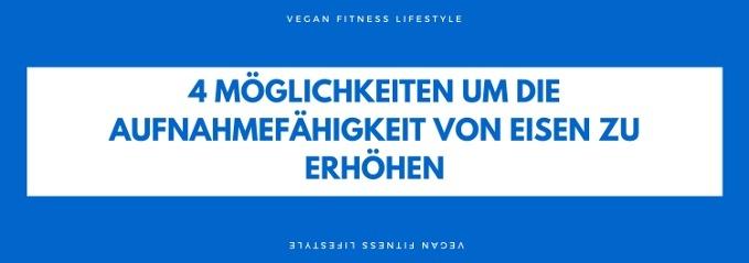 Eisenmangel vegan
