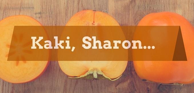 Kaki, Sharon, Persimon unterschied vegan