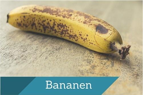 Bananen vegan fitness lifestyle