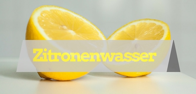 Zitronenwasser am Morgen - Vegan